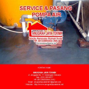 Pasang Pompa Air – 081336693844 (WA)