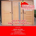 Pasang Pintu & Kusen PVC – 081336693844 (WA)
